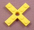Lego 3461 Yellow 4 Blade Propeller With Rotor Holder, 722 1469 1608 1914, Technic