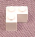 Lego 2357 White 2x2 L Shaped Corner Brick, L-Shaped
