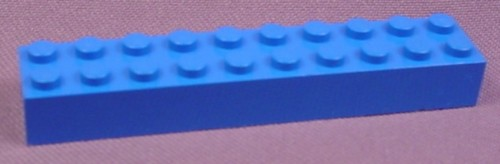 Lego 3006 Blue 2x10 Brick, Star Wars, Sculptures, Space