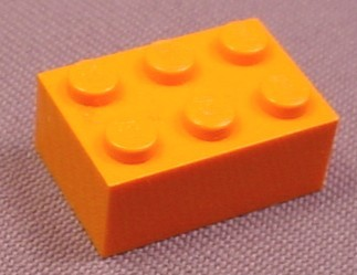Lego 3002 Orange 2x3 Brick