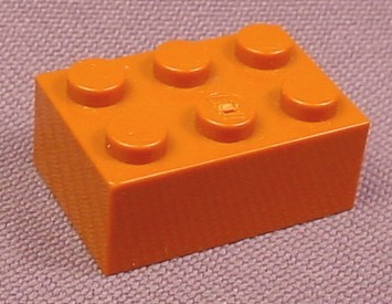 Lego 3002 Dark Orange Brown 2x3 Brick, 4518 4679 4728 7194, Harry Potter, Star Wars