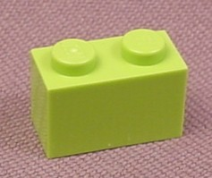 Lego 3004 Lime Green 1x2 Brick