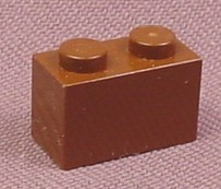 Lego 3004 Brown 1x2 Brick