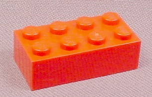 Lego 3001 Red 2x4 Brick