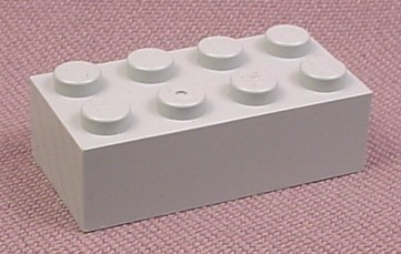 Lego 3001 Medium Stone Gray 2x4 Brick