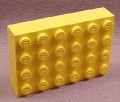 Lego 2316 Yellow 4x6 Brick Base, 4146 4134 3438 4145 1577 6426