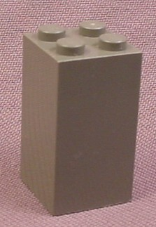 Lego 30145 Dark Gray 2x2x3 Brick, 4709 10029, Harry Potter, NASA