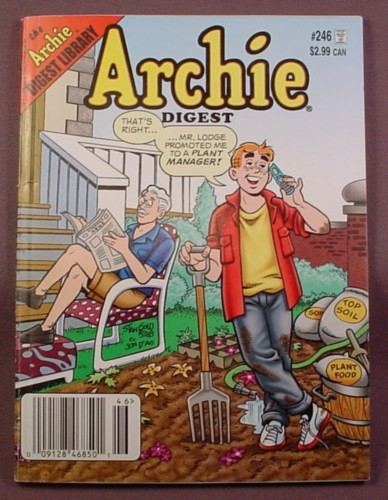 Archie Digest Magazine Comic #246, Sep 2008, Very Good Condition
