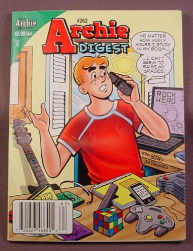 Archie Digest Comic #262, May 2010, Good Condition