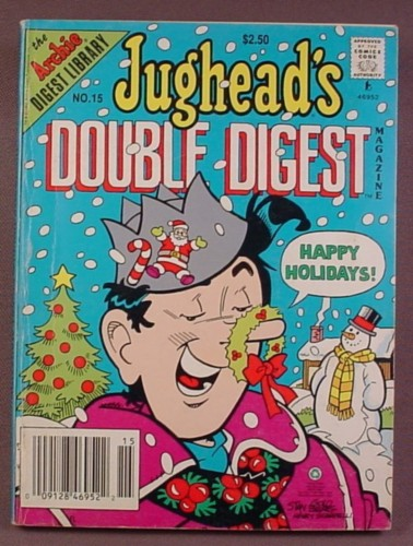 Jughead's Double Digest Magazine Comic #15, Feb 1993, Good Condition