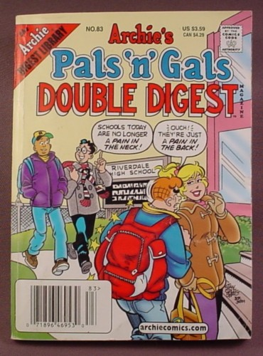 Archie's Pals N Gals Double Digest Magazine Comic #83, May 2004, Good Condition