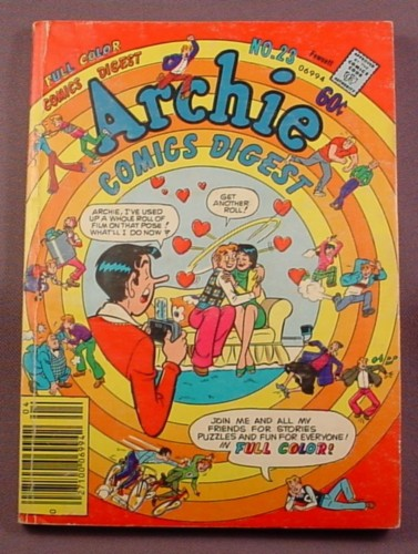 Archie Comics Digest #23, Apr 1977, Good Condition, Name Written Inside Front Cover