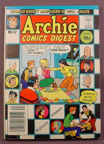 Archie Comics Digest #47, Apr 1981, Very Good Condition