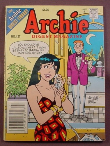 Archie Digest Magazine Comic #127, May 1994, Good Condition