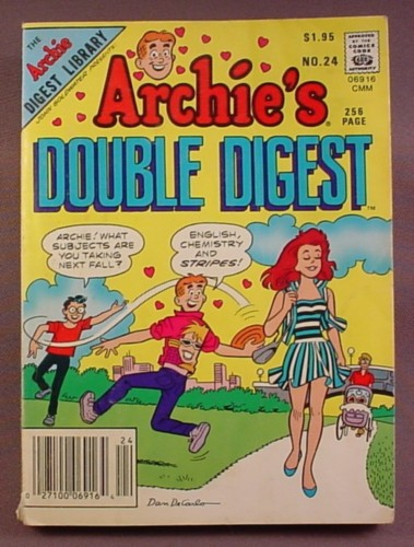 Archie's Double Digest Comic #24, Sept 1986