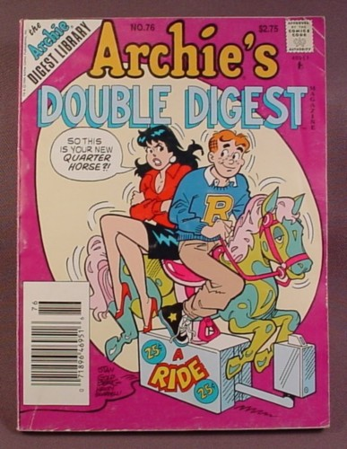 Archie's Double Digest Comic #76, Jan 1995