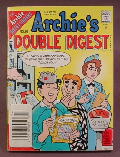 Archie's Double Digest Comic #94, Aug 1997
