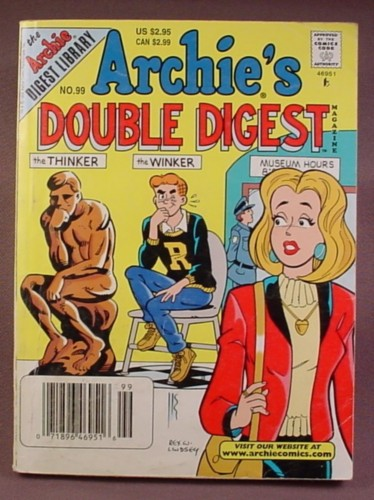 Archie's Double Digest Comic #99, May 1998