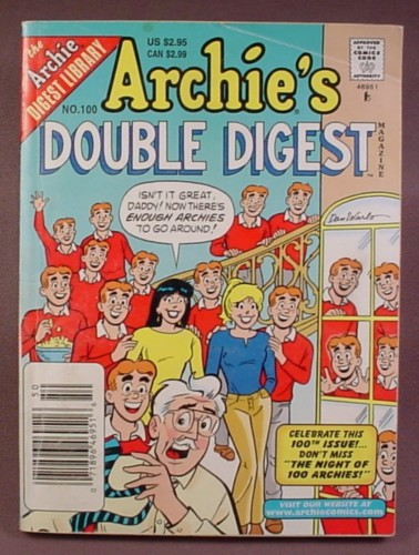 Archie's Double Digest Comic #100, June 1998