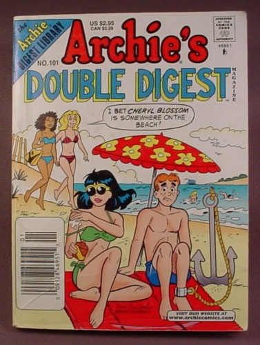 Archie's Double Digest Comic #101, Aug 1998