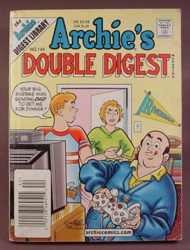 Archie's Double Digest Comic #144, Sept 2003