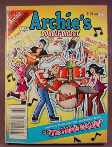 Archie's Double Digest Comic #184, Jan 2008