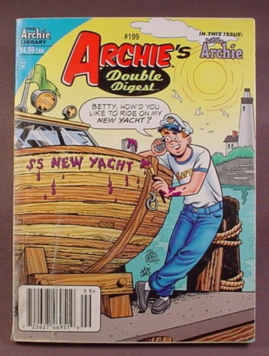 Archie's Double Digest Comic #199, Aug 2009