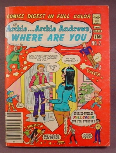 Archie Andrews Where Are You Comics Digest #2, May 1977