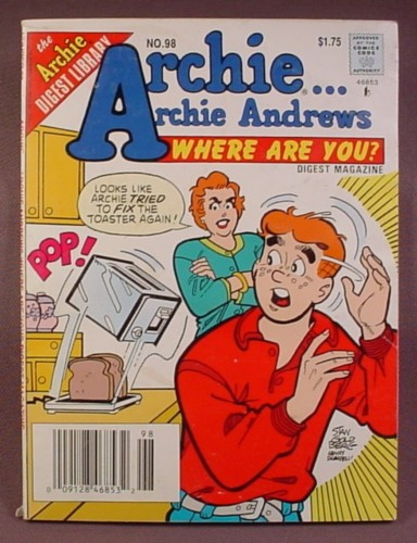 Archie Andrews Where Are You Comics Digest #98, Feb 1995