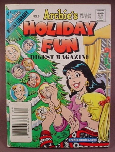 Archie's Holiday Fun Digest Magazine Comic #9, Dec 2003