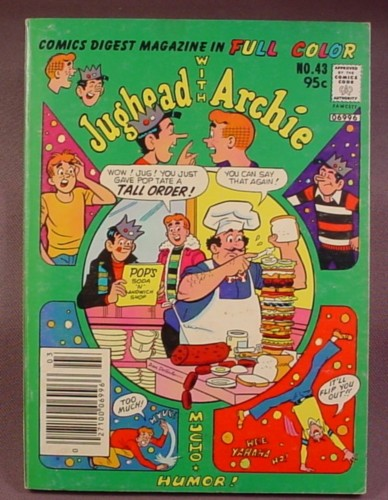 Jughead With Archie Digest Comic #43, Mar 1981