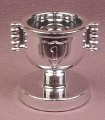 Lego Duplo 40553 Chrome Silver 1st Place Trophy Cup, Figure Accessory