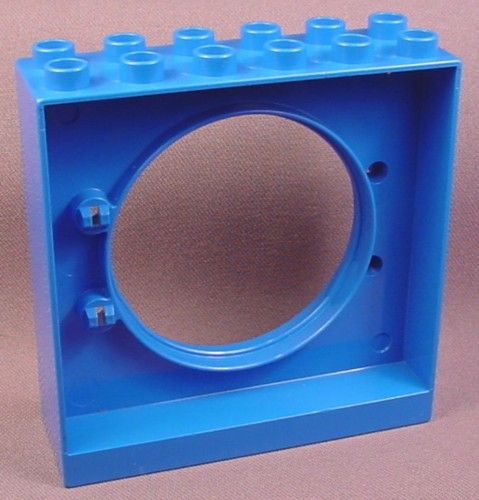 Lego Duplo 31191 Blue 2x6x5 Door Frame with Tube Connection Hole, Tubes, Winnie The Pooh