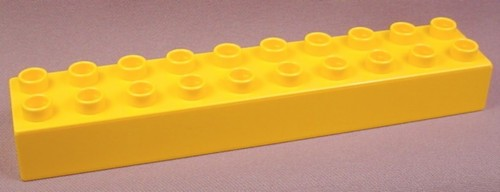 Lego Duplo 2291 Light Orange 2x10 Brick, Bob The Builder