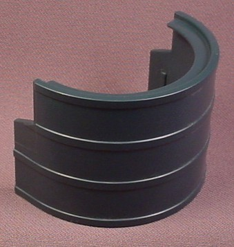Playmobil Black Semi Round Curved Window Roof 3965 7338 Building