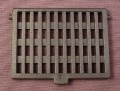 Playmobil Black Deck Hatch Grate Cover with Hinge Points, 4133 5863, Pirates