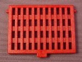 Playmobil Red Deck Hatch Grate Cover with Hinge Points, 5869, Pirates