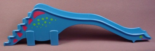 Playmobil Blue Dinosaur or Dragon Shaped Playground Slide, 3820 4070 7328, 11 1/2 Inches