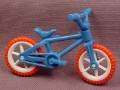 Playmobil Child Size Mountain Bike, Bicycle, Pink & White Wheels, Blue Frame, Bike, Vehicle