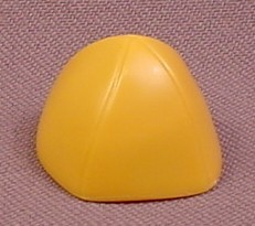 Playmobil Mustard Yellow Hat with 4 Stitched Seams, 4437, Barbarians, Klicky Figure Wearable