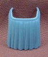 Playmobil Light Blue Short Pleated Apron, Clips Onto Waist, 3770, Klicky Figure Wearable