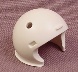 Playmobil White Astronaut Helmet With Holes For Rubber Oxygen Hose, 4634 6196 6197 6460, 30 21 3130
