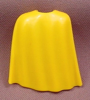 Playmobil Yellow 3/4 Length Flowing Cape Or Cloak, 3151 3153 3155 3415 3586 3667 3668 5003 5713 5724