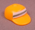 Playmobil Orange Baseball Style Crossing Guard Hat Or Cap, 3256 4315 4328 5010, 30 62 9712
