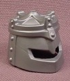 Playmobil Silver Gray Helmet with Crown on Top for King, 4670, Knight, Castle, Grey, Wearable