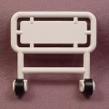 Playmobil White Hospital Bed Head Board With Wheels, 3130 3495 3980 7624, Medical, Clips Onto A Bed