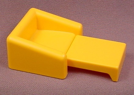 Playmobil Gold or Light Orange Armchair Sofa Bed, 3230, Furniture, Mattress Folds Out