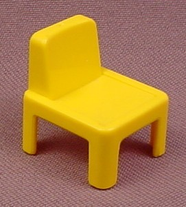 Playmobil Yellow Child Size Chair, 3290 3926 4404 5314 7395, Furniture, 30 04 8800