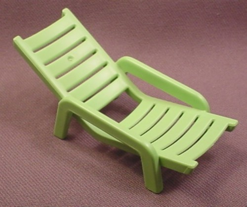Playmobil Lime Green Lawn Chair Or Lounger 3965 4858 6020 6978 30 22 1020 Rons Rescued Treasures