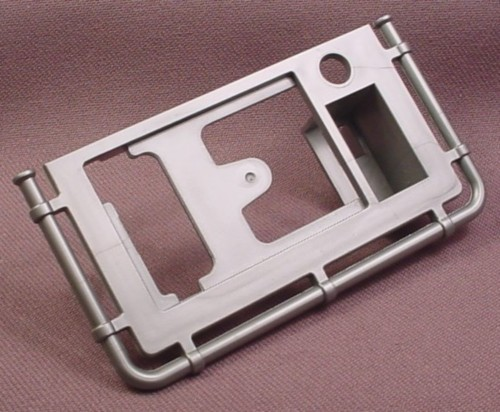Playmobil Silver Gray Victorian Or antique Stove Top Frame With Rail, 3517 4058 5317 5322 5755